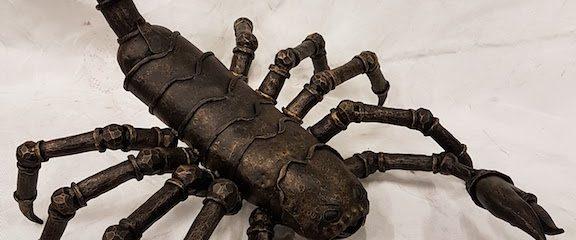 Kalviška skulptūra – skorpionas