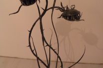Kalviška skulptūra – gėlė