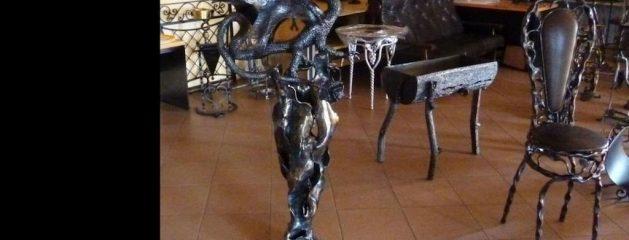 Kalviška skulptūra – drakonas