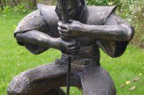 Kalviška skulptūra – samurajus